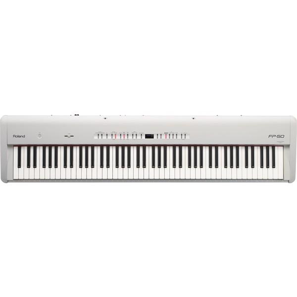 лучшая цена Цифровое пианино Roland FP-50-WH