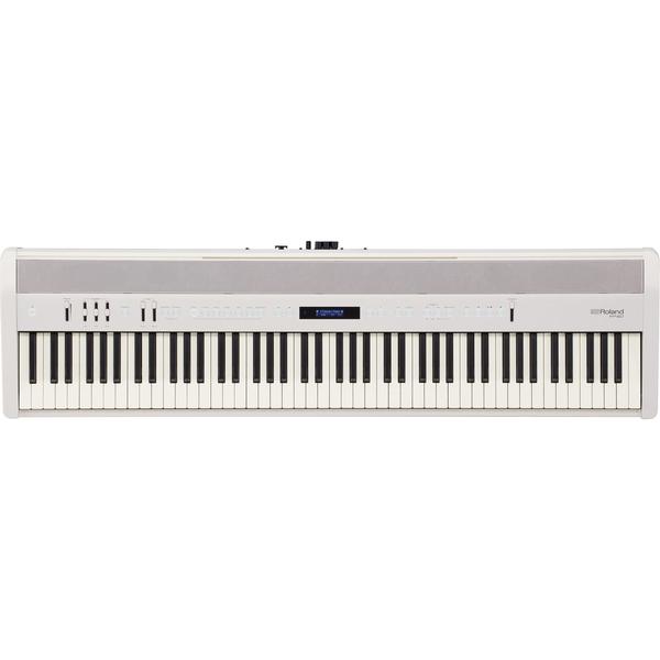 лучшая цена Цифровое пианино Roland FP-60-WH