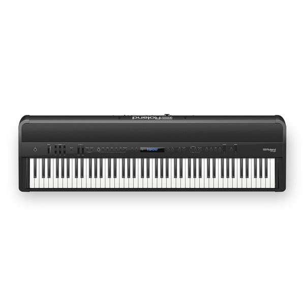 лучшая цена Цифровое пианино Roland FP-90-BK