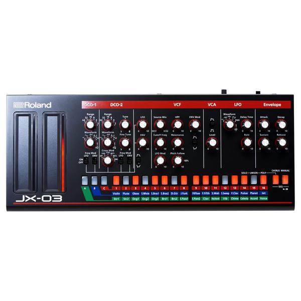 Синтезатор Roland JX-03 синтезатор roland v combo vr 09b