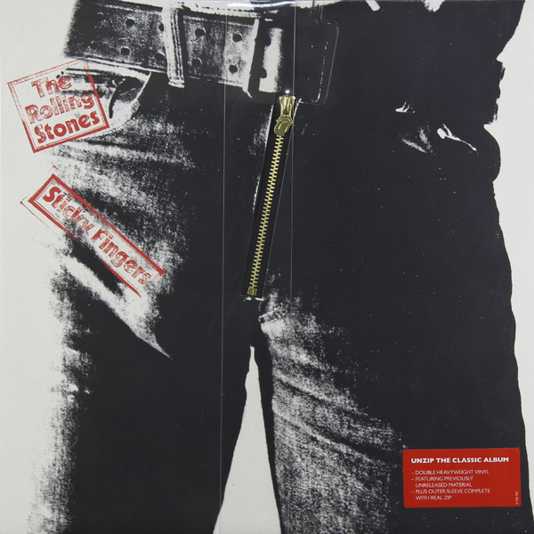 Rolling Stones Rolling Stones - Sticky Fingers (deluxe, 2 LP)