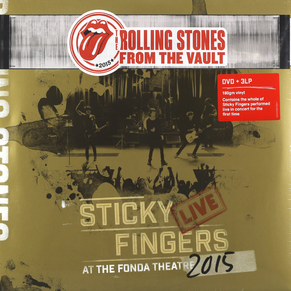 Rolling Stones - Sticky Fingers Live At The Fonda Theatre 2015 (3 Lp+dvd)