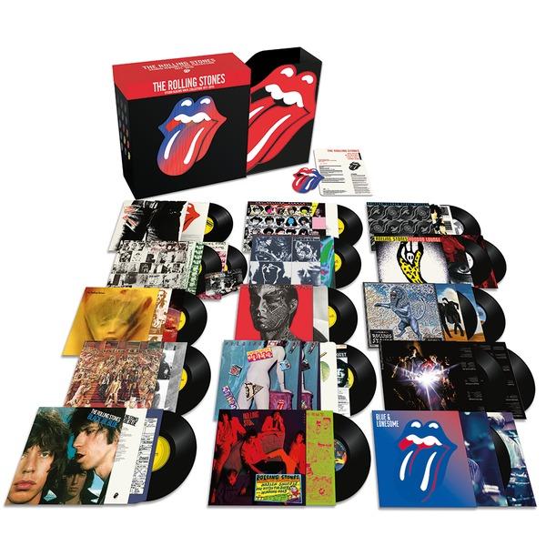 лучшая цена Rolling Stones Rolling Stones - Studio Albums 1971-2016 (20 LP)