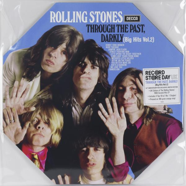 Rolling Stones Rolling Stones - Through The Past, Darkly (big Hits Vol. 2) (colour) female vocal club hits 2 cd