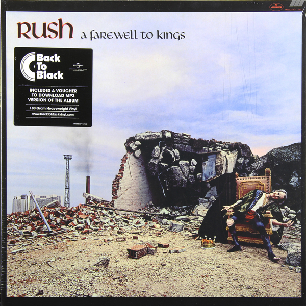 цена на RUSH RUSH - A Farewell To Kings (180 Gr)