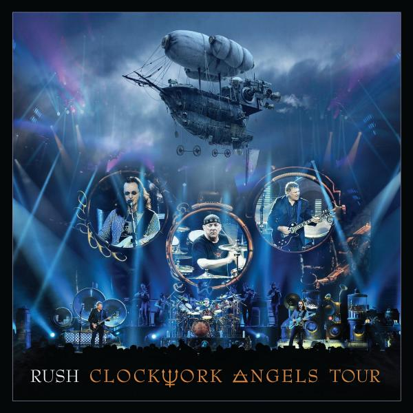 цена на RUSH RUSH - Clockwork Angels Tour (5 Lp, 180 Gr)