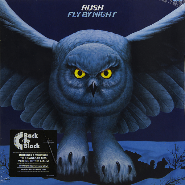 цена на RUSH RUSH - Fly By Night (180 Gr)