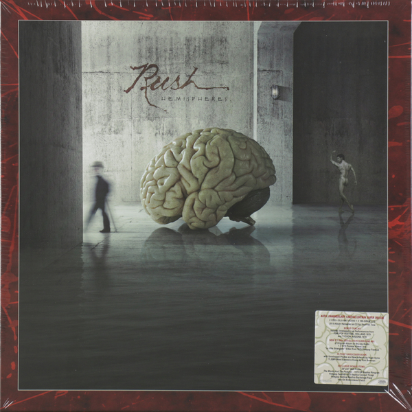 RUSH RUSH - Hemispheres (3 Lp+2 Cd+br-a) rush rush power windows lp