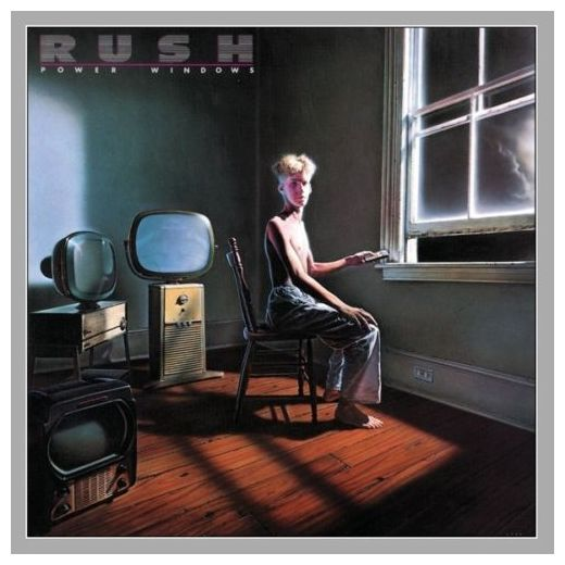 RUSH RUSH - Power Windows rush rush power windows lp