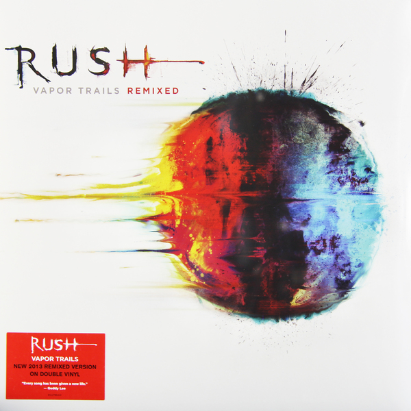 цена на RUSH RUSH - Vapor Trails Remixed (2 Lp, 180 Gr)