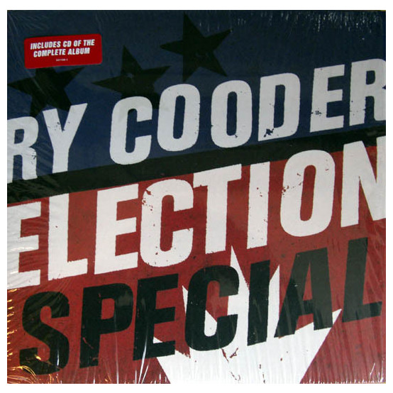 цена на Ry Cooder Ry Cooder - Election Special (lp+cd)