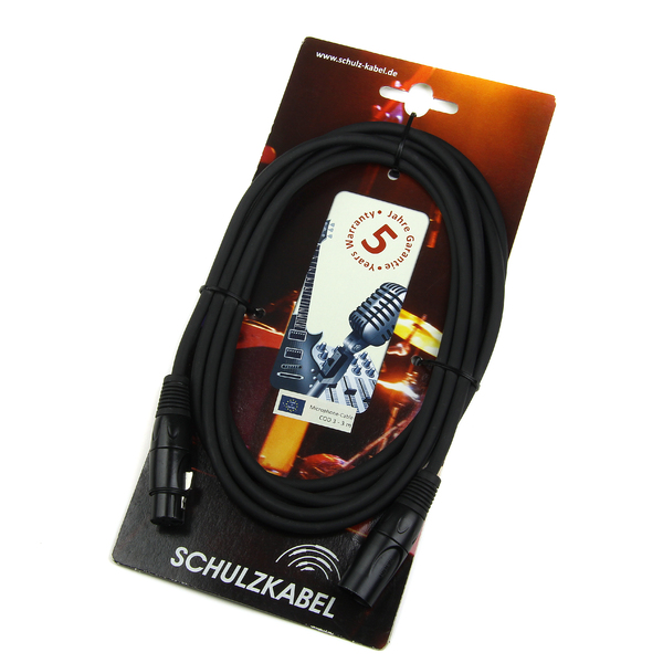 Кабель микрофонный Schulz COD (XLR-XLR) 2 m кабель микрофонный schulz mlk xlr jack 6 3 3 m