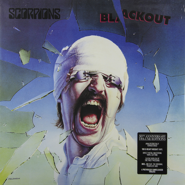 Scorpions Scorpions - Blackout (50th Anniversary Deluxe Edition) (lp+cd) агнета фальтског agnetha faltskog a deluxe edition cd dvd