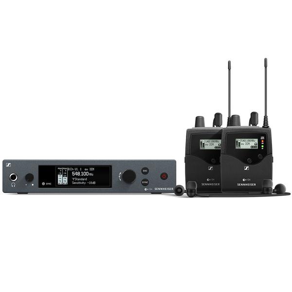 Система персонального мониторинга Sennheiser EW IEM G4-TWIN-G
