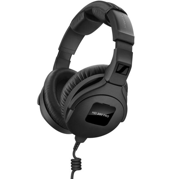 Охватывающие наушники Sennheiser HD 300 PRO Black