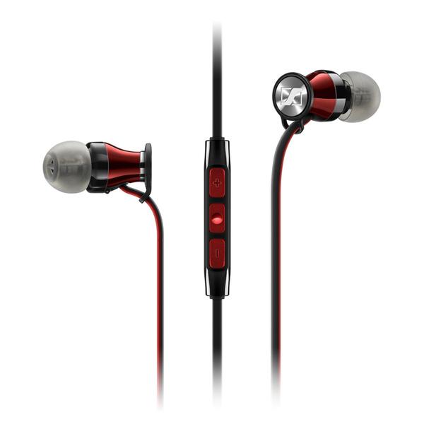лучшая цена Внутриканальные наушники Sennheiser Momentum M2 IEi Black/Red