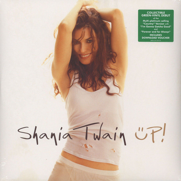Shania Twain Shania Twain - Up (green, 2 LP) shania twain shania twain now 2 lp