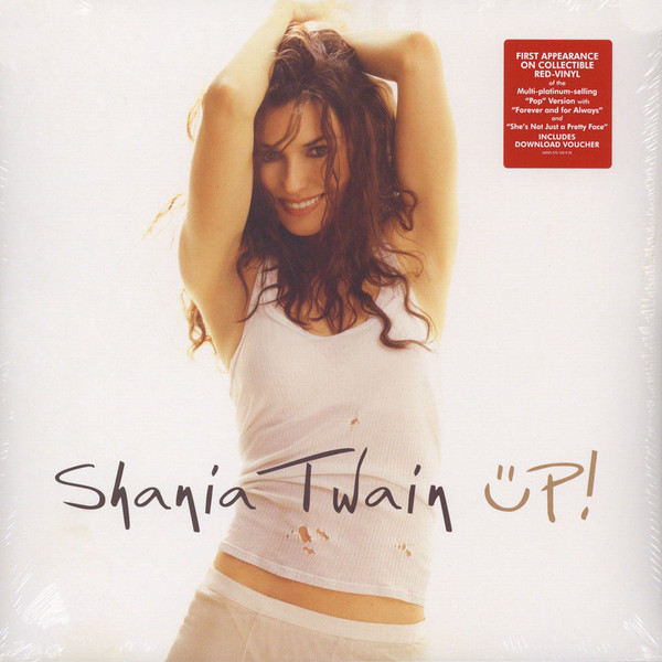 Shania Twain Shania Twain - Up (red, 2 LP) shania twain shania twain now 2 lp