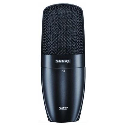 Студийный микрофон Shure SM27-LC вокальный микрофон shure sm48 lc