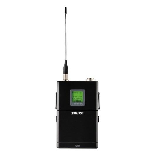 Передатчик для радиосистемы Shure UR1 J5E 578 - 638 MHz shure blx188e k3e 606 638 mhz