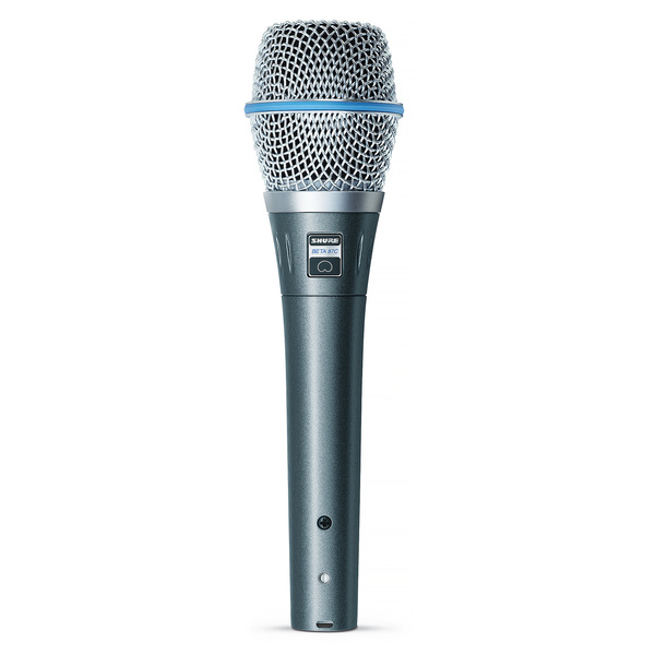 Вокальный микрофон Shure BETA 87C инструментальный микрофон shure beta 52a