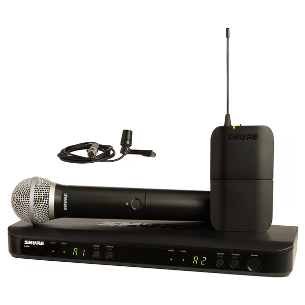 лучшая цена Радиосистема Shure BLX1288E/CVL M17