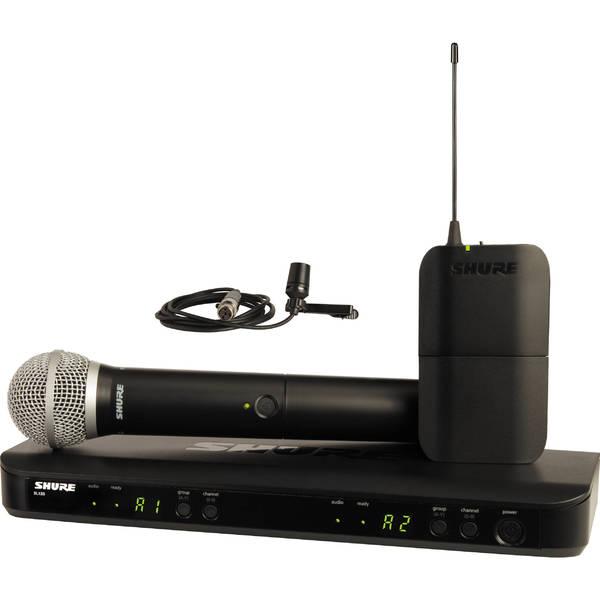 цены Радиосистема Shure BLX1288E/W85 M17