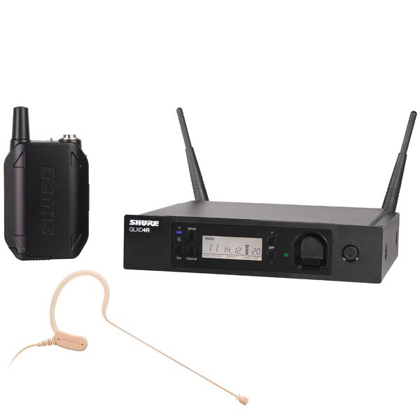 Радиосистема Shure GLXD14RE/MX53 Z2 головной микрофон shure mx153c o tqg