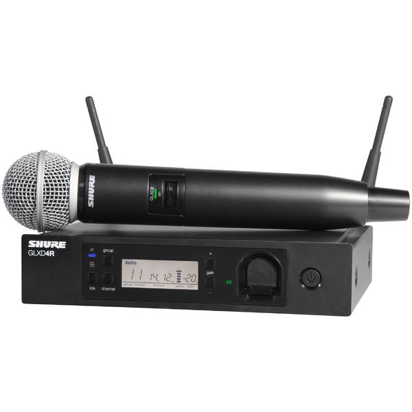 Радиосистема Shure GLXD24RE/SM58 Z2 2.4 GHz shure ulxd2 sm58 p51