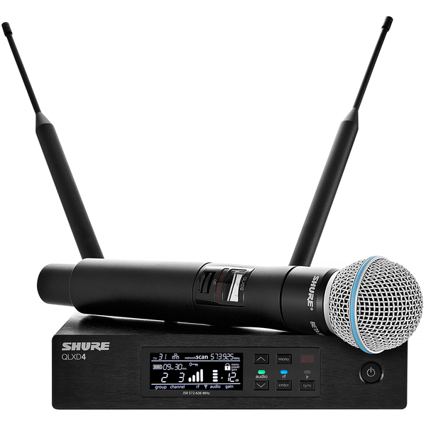 Радиосистема Shure QLXD24E/B58 P51