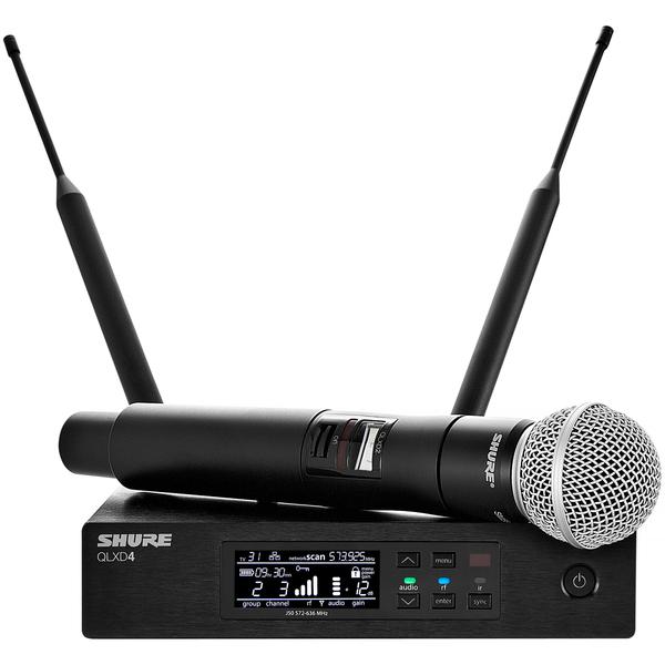 Радиосистема Shure QLXD24E/SM58 G51