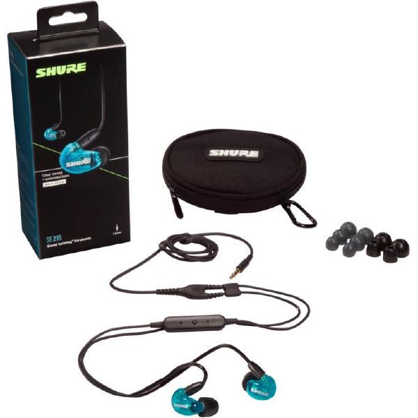 Фото - Внутриканальные наушники Shure SE215SPE-B+UNI-EFS кабель для наушников shure rmce uni