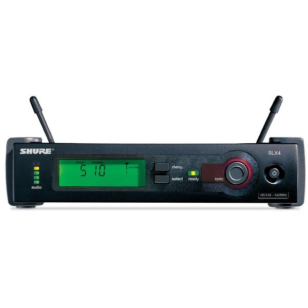 Приемник для радиосистемы Shure SLX4E P4 настройка каналов tv