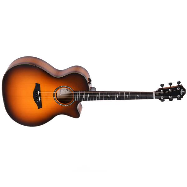 Гитара электроакустическая Sigma Guitars GACE-3-SB+