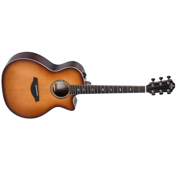 Гитара электроакустическая Sigma Guitars GBCE-3-SB+