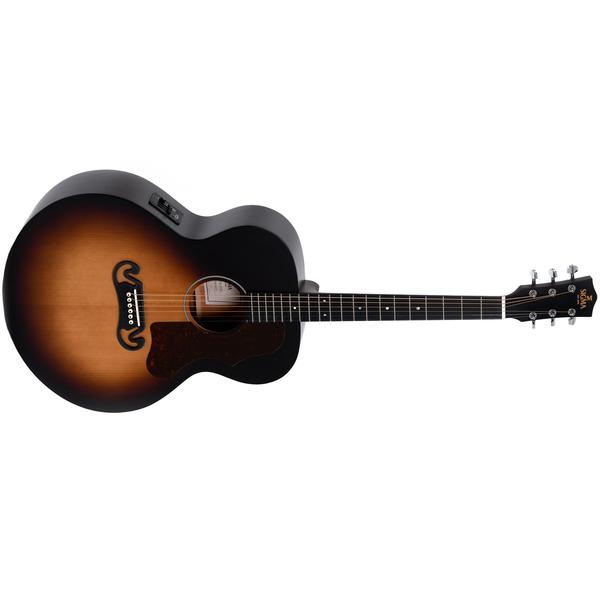Гитара электроакустическая Sigma Guitars GJM-SGE+ цена и фото