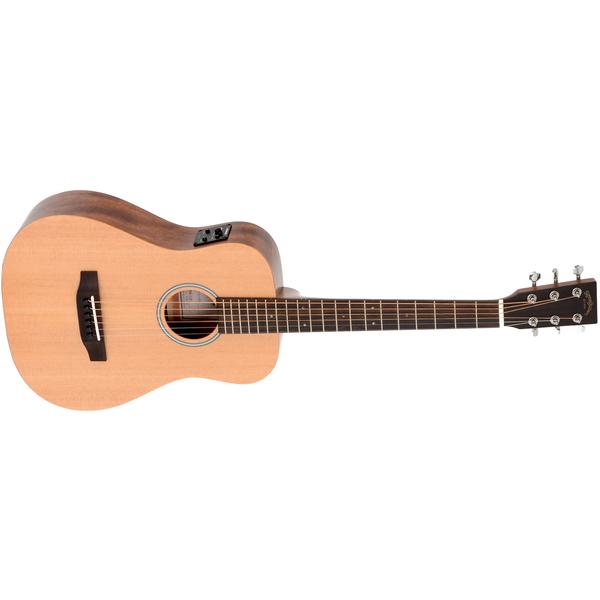 цена Гитара электроакустическая Sigma Guitars TM-12E+ онлайн в 2017 году