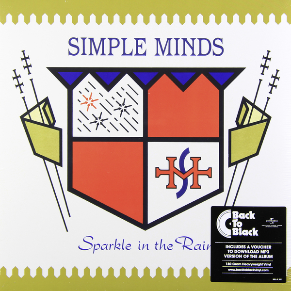 Simple Minds Simple Minds - Sparkle In The Rain (180 Gr) simple minds london