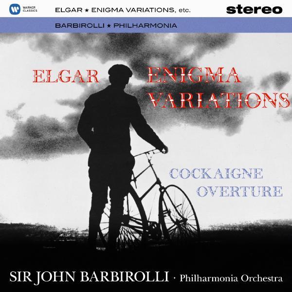 ELGARSir John Barbirolli - : Enigma Variations, 'cockaigne' Overture (180 Gr)