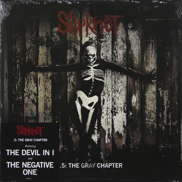Slipknot Slipknot - .5: The Gray Chapter (2 LP) slipknot slipknot 5 the gray chapter deluxe edition 2 cd