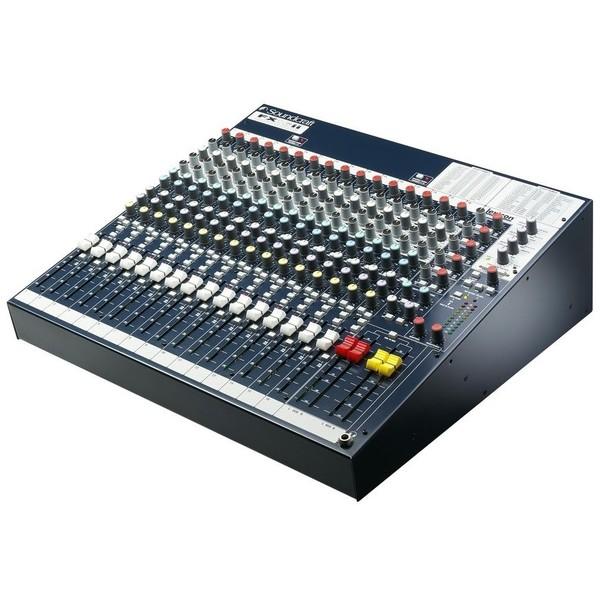 Аналоговый микшерный пульт Soundcraft FX16ii аксессуар для концертного оборудования soundcraft рэковые крепления rackmount kit fx16ii