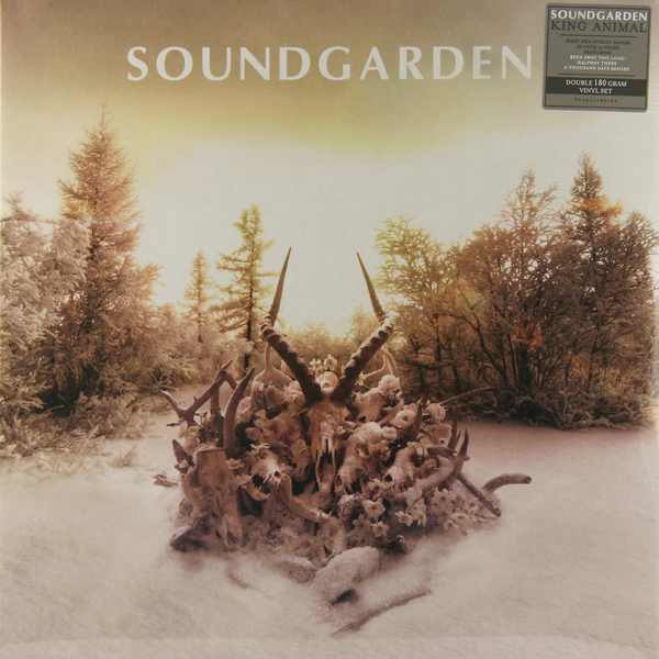 Soundgarden Soundgarden - King Animal (2 Lp, 180 Gr) soundgarden soundgarden badmotorfinger 2 lp