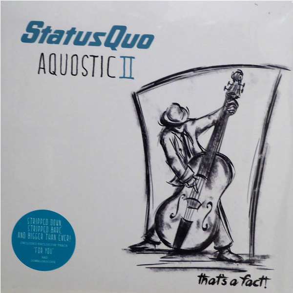 лучшая цена Status Quo Status Quo - Aquostic Ii – That's A Fact! (2 LP)