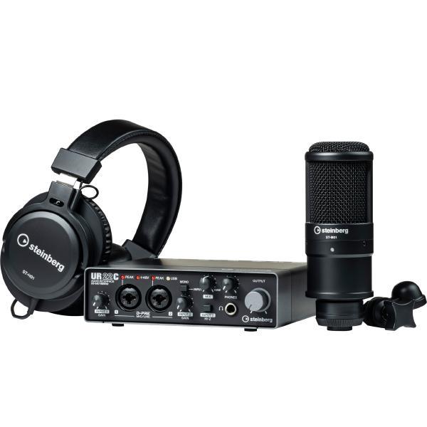 Внешняя студийная звуковая карта Steinberg UR22C Recording Pack