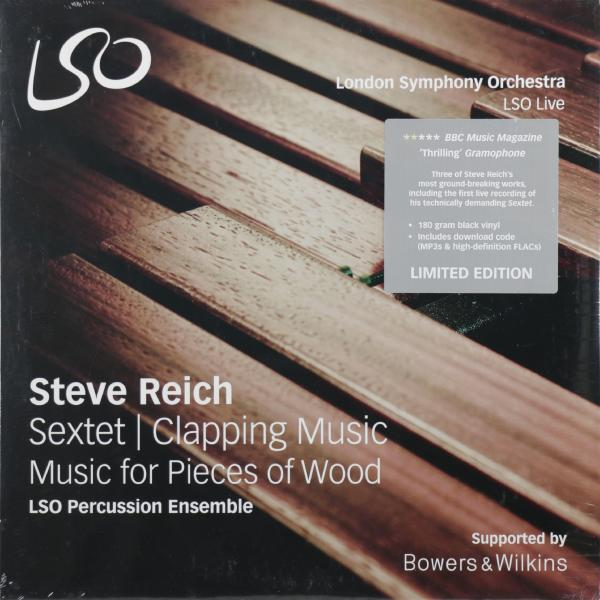 Steve Reich Steve Reich - Reich: Sextet/clapping Music (уценённый Товар) steve reich drumming music for mallet instruments voices and organ six pianos 3 lp