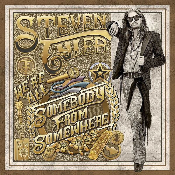 Steven Tyler Steven Tyler - We're All Somebody From Somewhere (2 LP) stephanie tyler coming undone