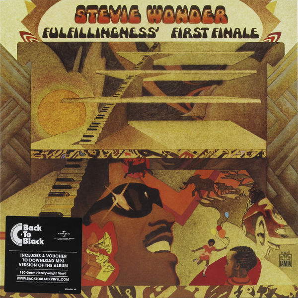 Stevie Wonder Stevie Wonder - Fulfillingness' First Finale цена и фото