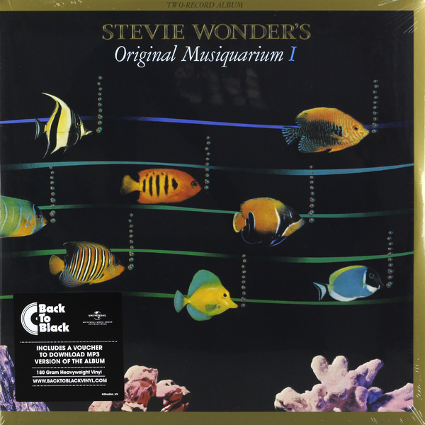 Stevie Wonder Stevie Wonder - Original Musiquarium I (2 LP) цена и фото