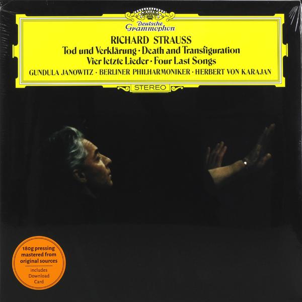 Strauss StraussHerbert Von Karajan - : Tod Und Verklarung Op.24 r strauss schlichte weisen op 21