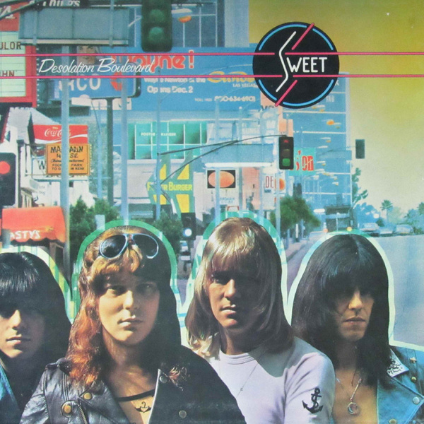 SWEET - Desolation Boulevard (180 Gr)